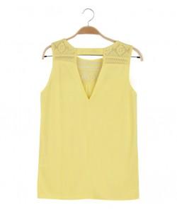 Top na słoneczne lato WBX-8256 żółty