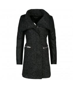 Płaszcz jesienny WNZ-9917 czarny