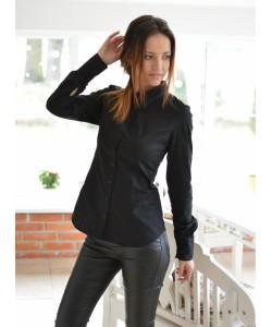 Koszula  z zamkiem na plecach KS06 mix