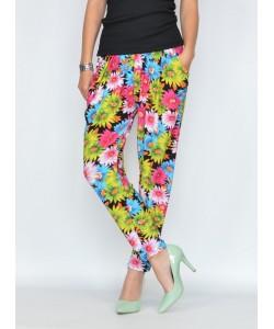 Obłędne spodnie chinosy mix kolor sp003