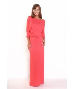 Sukienka maxi z długim rękawem RS79 Cztery kolory
