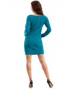 Przejściowa sukienka kangurka MOE248 trzy kolory