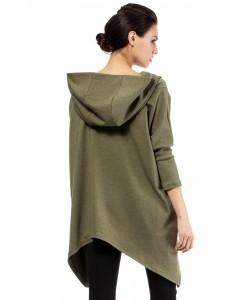 Oryginalna bluza oversize MOE207 Trzy kolory