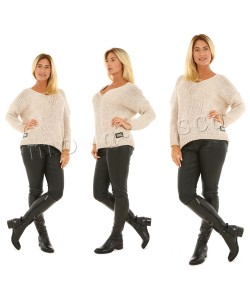 Krótki sweterek M928 Cztery kolory