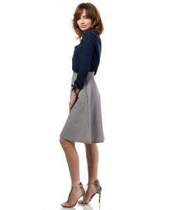Trapezowa spódnica MOE184 Cztery kolory