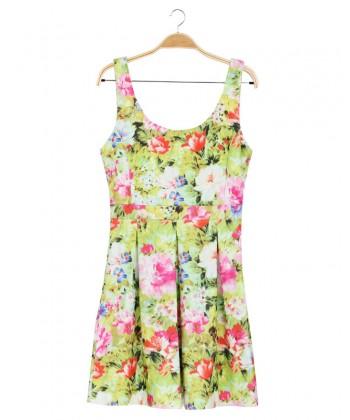 Weselna sukienka WYQ-8483 multikolor
