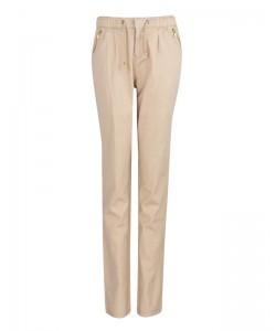 Komfortowe spodnie bawełniane WSK-8024 beż