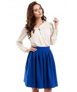 Rozkloszowana spódnica MOE237 Trzy kolory