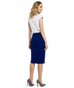 Dopasowana damska spódnica z paskiem