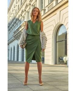 Sukienki damskie eleganckie ołówkowe wieczorowe do pracy sklep Slango