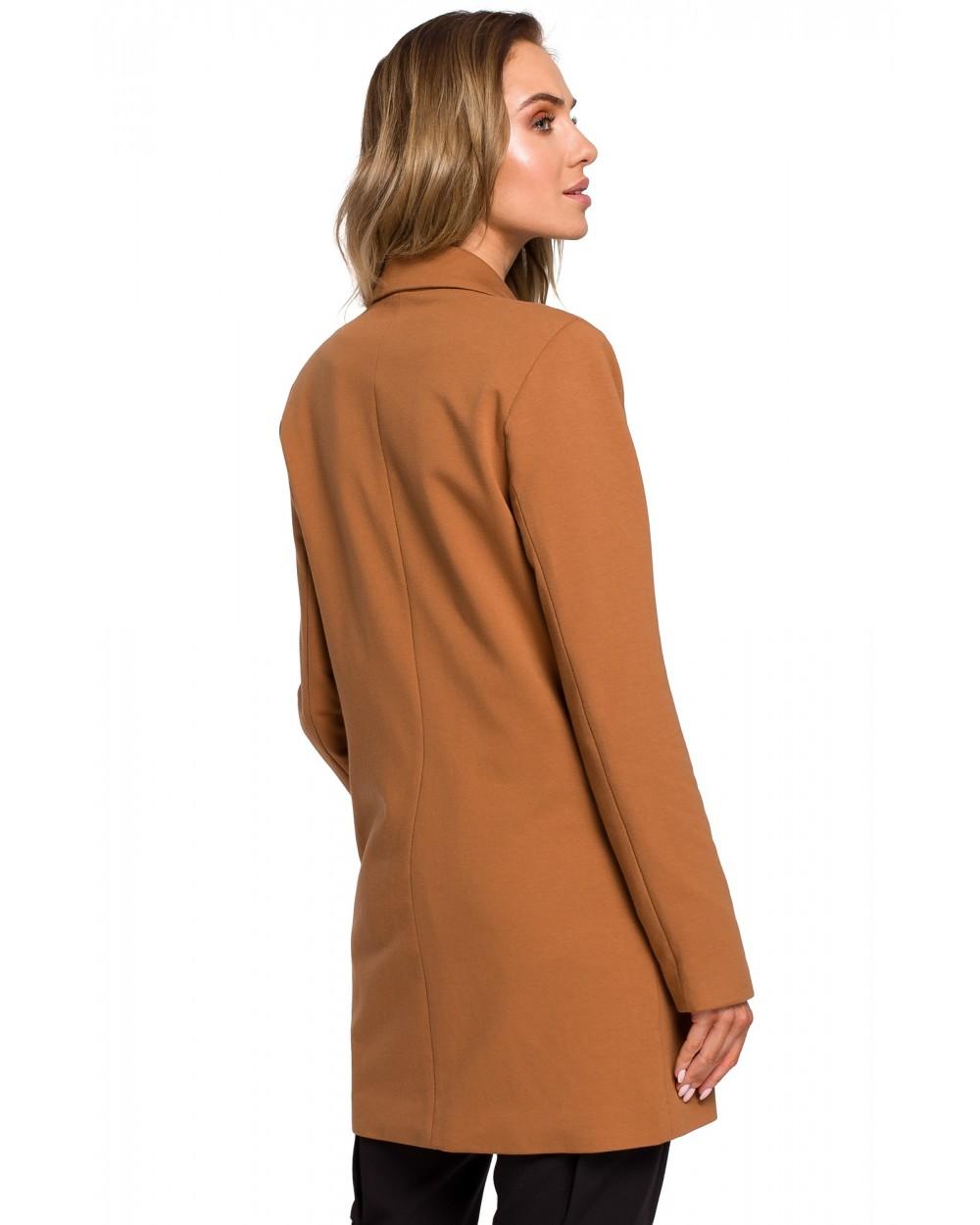 0d3d9ede32 Żakiet damski dwurzędowy karmelowy brązowy elegancki sklep online