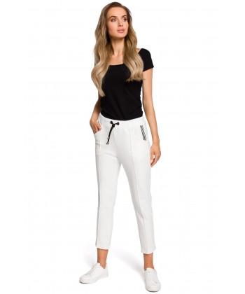 Dresowe spodnie 78 ecru