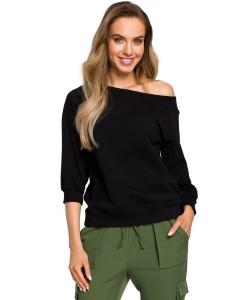 Bluza damska w kolorze czarnym sportowa casual