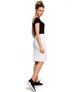 Spódnica damska sportowa w kolorze ecru