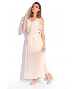 Sukienka boho Jagoda - beż
