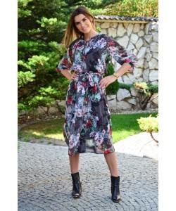 Kobieca sukienka boho Marina szara