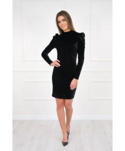 Elegancka czarna sukienka XS-M Stella czarna 1