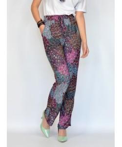 Stylowe długie spodnie SP04 Multicolor