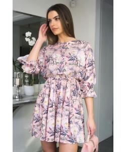 Sukienka Maja różowa BLD