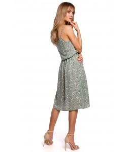 Letnia sukienka na ramiączkach M518/ Model 7