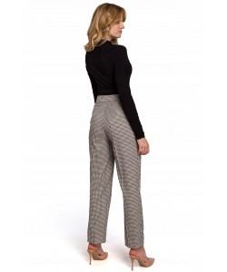 Stylowe spodnie damskie S- XXL K076 beżowe 1