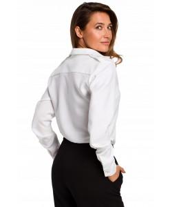 Elegancka biała koszula damska S-2XL 1