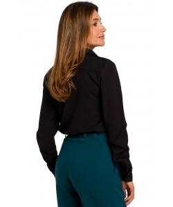 Elegancka koszula damska S-2XL S192 Czarna 1