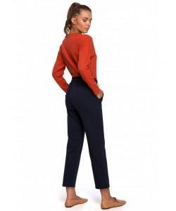 Spodnie typu joggers S228 atramentowy