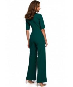 Elegancki kombinezon  S243  zielony