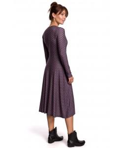 Kopertowa sukienka z wiązaniem B183 model