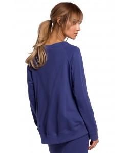 Świetna bluza o oryginalnym kroju Indygo