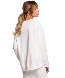 Świetna bluza o oryginalnym kroju Ecru