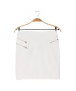 Spódnica biała WQZ-7978
