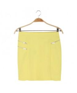 Spódnica żółta WQZ-7978
