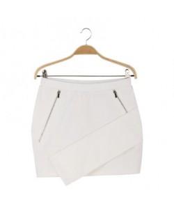 Spódnica biała WQZ-7977