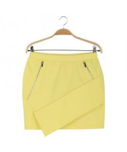 Spódnica żółta WQZ-7977