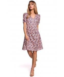 Sukienka midi bez rękawków K098 model1