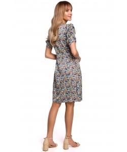 Sukienka midi bez rękawków K098 model2